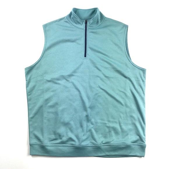 894c5e1cfb18 NEW Peter Millar Crown Sport Vest 1 4 Zip Sz Med